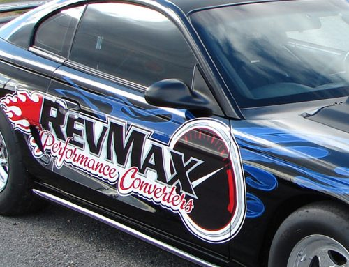 RevMax Performance Racing Car- Close Up